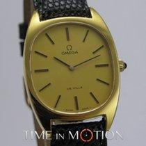 Omega Vintage De Ville Mouvement Mécanique Plaqué Or jaune