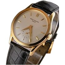 Patek Philippe 5096J Vintage Calatrava 5096 in Yellow Gold -...