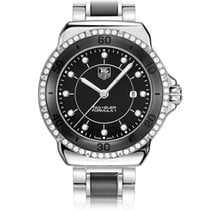 TAG Heuer FORMULA 1 Steel and Ceramic Diamond Black Dial 32mm
