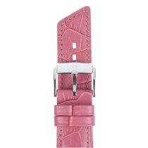 Hirsch Uhrenarmband Princess Kalbsleder pink M 02628125-2-18 18mm