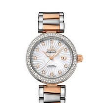 Omega Ladies 42525342055001 De Ville Ladymatic Watch