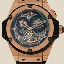 Hublot King Power Chrono Tourbillon Gold