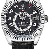 Ρολεξ (Rolex) Sky Dweller 42mm 326139 Black Arabic