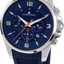 Jacques Lemans Liverpool 1-1799C Herrenchronograph Design...