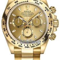 Rolex Cosmograph Daytona Yellow Gold 116508 Champagne Index...