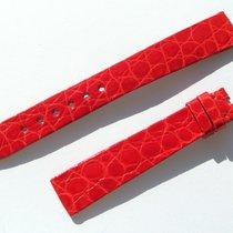 萧邦 (Chopard) Croco Armband Rot Red 14 Mm Für Dornschliesse...