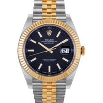 Rolex Oyster Perpetual Datejust Mens Automatic Watch 126333 bkij