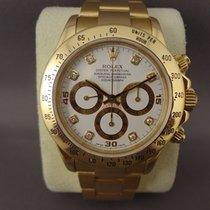Rolex Daytona Zenith Yellow Gold Diamond Dial ( Full Set )