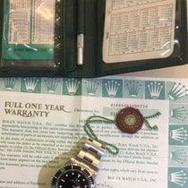 Rolex Sea-Dweller NOS 1989 box paper +kit Tooulbar Nos