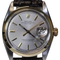 Rolex Datejust Steel and Gold Men's Watch, Silver Stick...