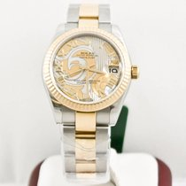 Rolex Lady-Datejust 178273 Gold Dust Dream MOP Dial Box &...