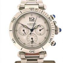 Cartier Pasha Steel Chronograph Ref.2113