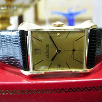 Jaeger-LeCoultre Vintage 14k Yellow Gold Fancy Lugs Manual...