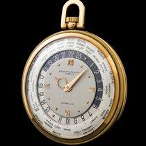 Patek Philippe The yellow gold Worldtime pocketwatch