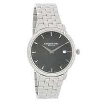 Raymond Weil Toccata Mens Black Dial Swiss Quartz Watch...