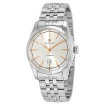 Hamilton Men's Spirit Of Liberty Silver Dial Watch