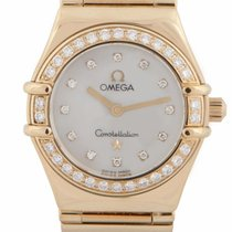 "pre owned omega constellation watches on chrono24 omega constellation ""my choice"" 18ct yellow gold 1164 75 00"