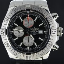 Breitling Super Avenger II Steel Chronograph, 48MM Full Set 2014
