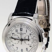 Patek Philippe 5070 18K White Gold Chronograph Mens Watch...