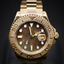롤렉스 (Rolex) Mens Yachtmaster Yellow Gold - with MOP Dial