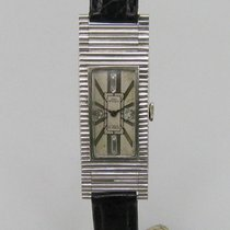 Paul Ditisheim A CHAUX DE FONDS ART DECO UHR IN PLATIN