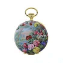 Patek Philippe Art Nouveau Enamel Pocket Watch