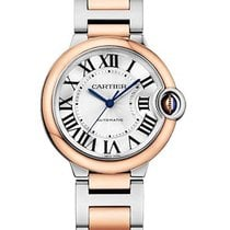 Cartier w2bb0003 Ballon Bleu 36mm 2-Tone Steel and Rose Gold -...
