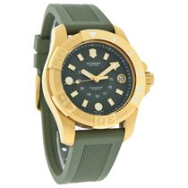 Victorinox Swiss Army Dive Master 500 Mens Green Date Dial...