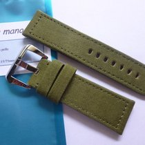 Bodhy Nylon strap in 24mm - Green Canvas in 24/22mm for your...