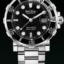 Paul Picot C-TYPE DIAL BLACK STRAP STEEL  UNDERWATER 1151SGN40...