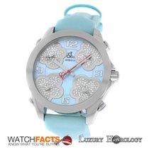 Jacob & Co. New Time Zone JCMATH14 $13300 MOP Diamond 40mm.