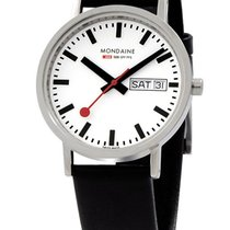 Mondaine A667.30314.11SBB New Classic Day Date Unisex 36 mm