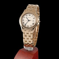 Cartier Panthere Cougar Yellow Gold Quartz Men Size