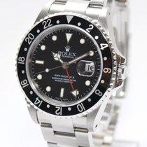 Rolex GMT Master II Stahl Ref.16710 von 2002 Papiere Box