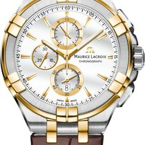Maurice Lacroix AIKON AI1018-PVY11-132-1 Herrenchronograph...