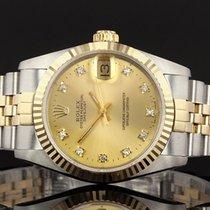 Rolex Ladies Rolex Datejust 31mm 68273 - Rolex Factory Fitted...