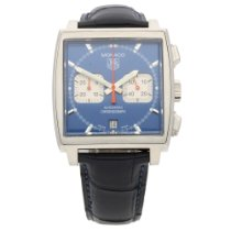 TAG Heuer Monaco CW2113 - Gents Watch - Blue Dial - 2007