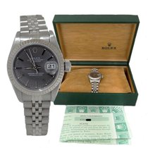 Rolex Ladies Rolex Oyster Perpetual Datejust Stainless Steel...