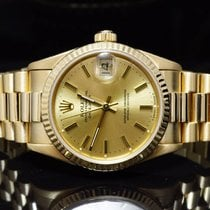 Rolex 31mm 18ct Yellow Gold Datejust, 68278, MINT, Boxed