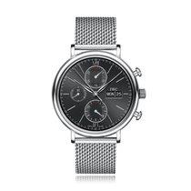 IWC Schaffhausen Portofino Chronograph Black Dial Bracelet...