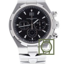 Vacheron Constantin Overseas Chronograph 42mm Black Dial NEW