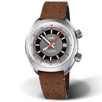 Oris Chronoris Brown Leather Strap Men's Watch 73377374053LS