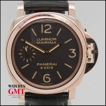 Panerai Luminor Marina 8 Days Power Reserve Rose Gold 2015