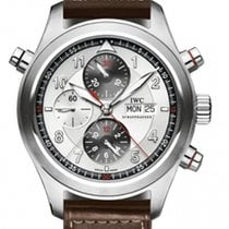 IWC Spitfire Double Chronograph Mens Watch Model IW371806