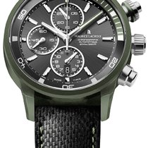 Maurice Lacroix Pontos S Extreme Chronograph, Date, Dark Green...