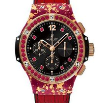 Χίμπλοτ (Hublot) Big Bang Gold Linen Pink Gold