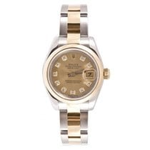 Rolex Datejust 178243 Midsize Stainless Steel and 18K Yellow...
