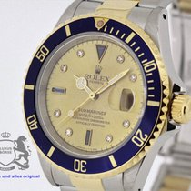 Rolex Submariner Date Serti Dial  Box & Swiss Papers from...