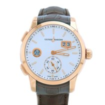 Ulysse Nardin 3346-126/91 42mm 18k Rose Gold Men's