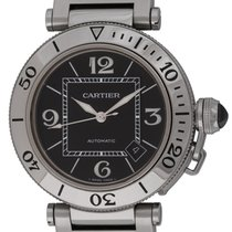 Cartier : Pasha Seatimer :  W31077M7 :  Stainless Steel